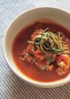 さっぱりスタミナ系!骨付き鶏の元気スープ