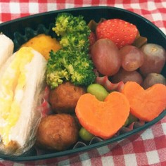 幼稚園のお弁当5月28日