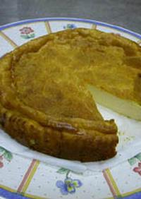 ミキサーで簡単◎和風チーズケーキ