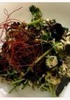 パクチーの韓国風サラダ