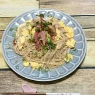 【覚書】(自分用)素麺で甘辛ビーフン風