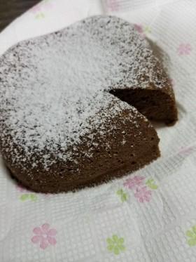 糖質制限☆しっとりココアおから蒸しパン