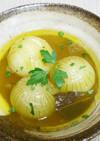 新玉ねぎの丸ごとスープ