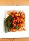 ガーリックオイルで焼野菜♡