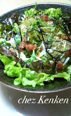 ■Healthy■大根と梅肉の和風サラダ