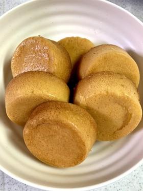 玄米を使ったフワフワカップケーキ