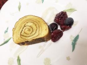 ダイエットに★時短おからバウムケーキ