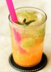 フルーツソーダ(オレンジ・キウイ)