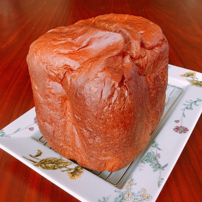 ふすまと大豆粉*HBで豆乳入り食パン