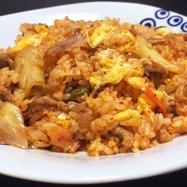 キムチ炒飯(豚バラ)