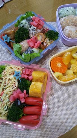 令和元年 運動会のお弁当