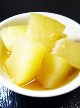 冬瓜の煮物。生姜仕立て(電気圧力鍋2分)