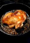 鶏モモのエスニックステーキ