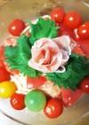 超簡単!トマトと生ハムの冷製パスタ