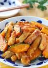 豚ロース厚切り肉と南瓜のオイスター炒め