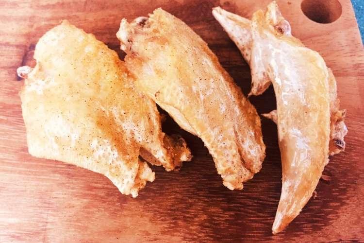 素 揚げ 鶏肉 やみつき!簡単鶏手羽中の甘辛揚げ