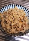 舞茸と人参の炊き込みご飯