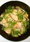 鮭の炊き込みご飯♪簡単炊飯器で