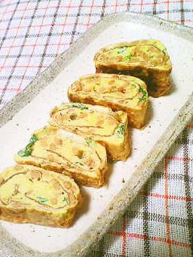 納豆好きの卵焼き☆