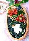 5月31日 蒸し鶏と鶏ハンバーグ 海苔弁