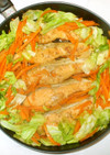 鮭のちゃんちゃん焼き♪簡単フライパン