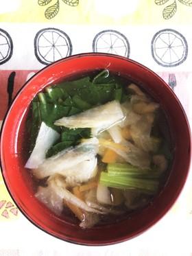 切り干し大根の塩スープ