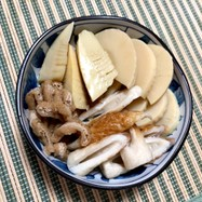 筍の水煮で簡単煮物♡あり物レシピ