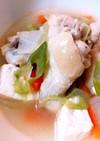 手羽元とお野菜のスープ*