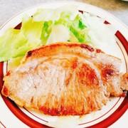 豚肉のステーキの写真