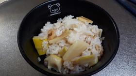 簡単タケノコご飯