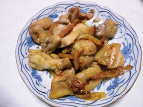 鶏のマーマレード煮