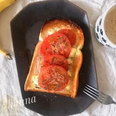 食パンアレンジ★マルゲリータ風トースト