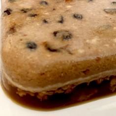 レーズンクッキーのコーヒーゼリー