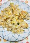 梅干しと卵のチャーハン