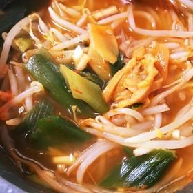 野菜いっぱいチゲスープ