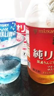 りんご酢☆炭酸水の写真