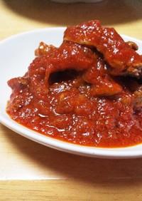 ☆簡単☆ラム肉のトマト煮込み
