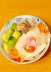 サバ缶糖質オフ☆ダイエットサラダ丼