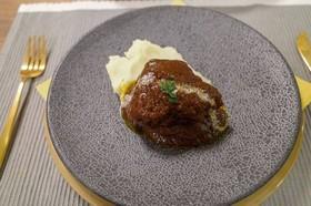 圧力鍋で✽牛肉の赤ワイン煮