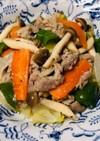 塩麹&にんにくダレの柔らか豚肉野菜炒め
