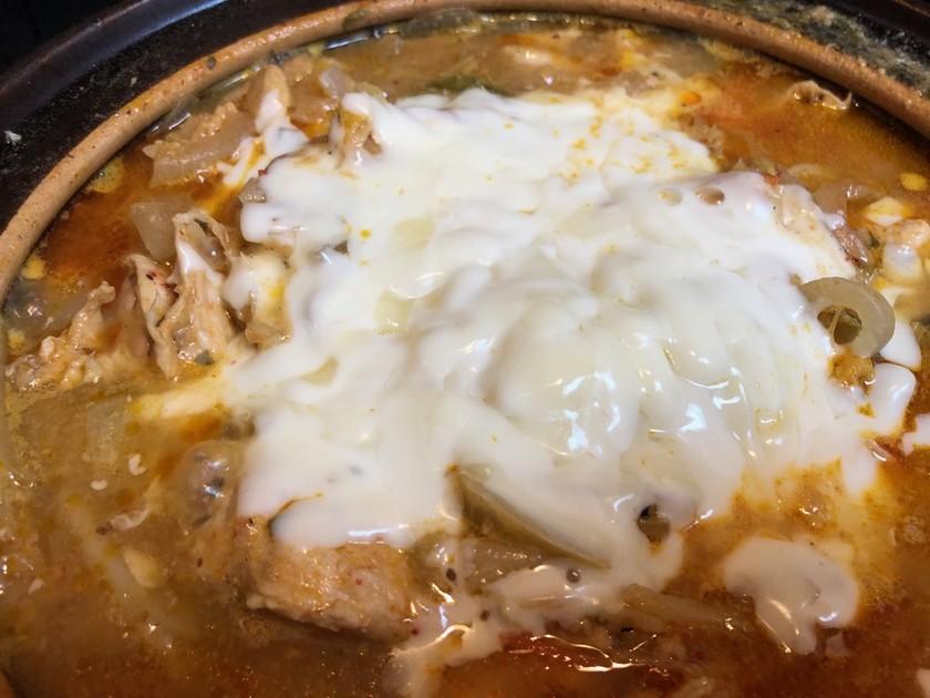 チーズ土鍋ダカルビ