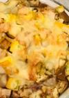 なすトマトズッキーニチーズのオーブン焼き