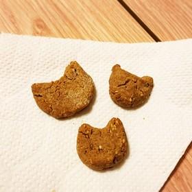 玄米粉とゴマのクッキー
