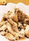 保存用レンジ蒸し鶏