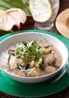 鶏肉と椎茸のタイ風スープカレー