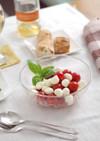1分で!モッツァレラとミニトマトのサラダ