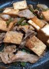 豚肉と厚揚げのケッチャプ炒め