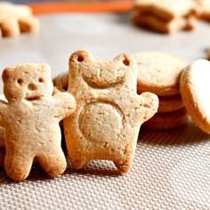 混ぜるだけ!簡単*全粒粉クッキー