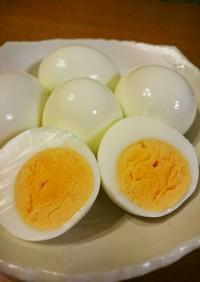 簡単!時短!ゆで卵♪
