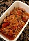 【外国で料理】鯖缶とトマト缶煮